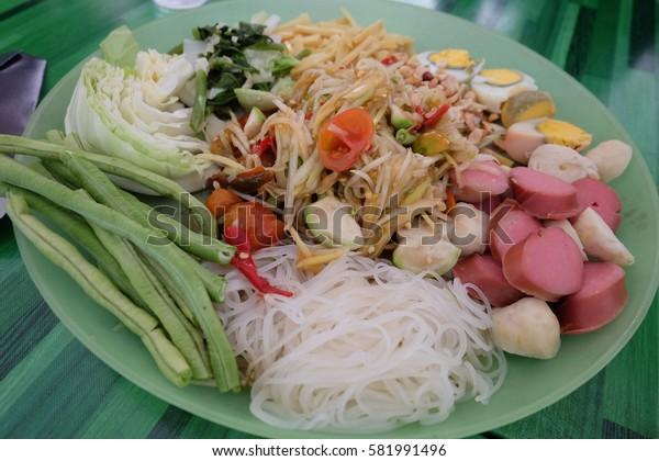 Thai traditional food.