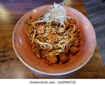 "Thai traditional food called ""Padthai"" make from rice noodles stir fried with spacial sauce Thai style, ingredients such important in it which is tamarind"