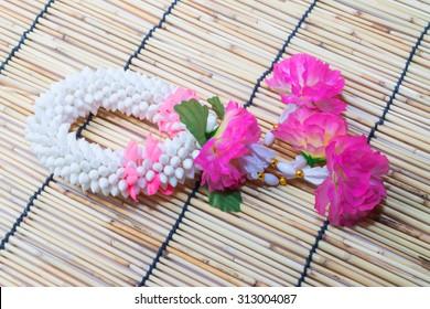 Thai traditional jasmine garland