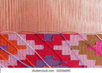 Thai traditional loom