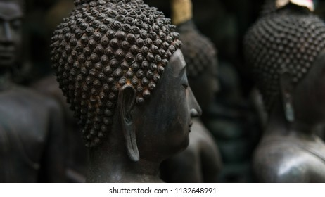 Old Buddha Statues On Local Market Stock Photo (Edit Now) 1037393338