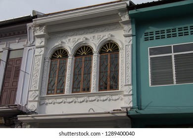Thai traditional windows and doors