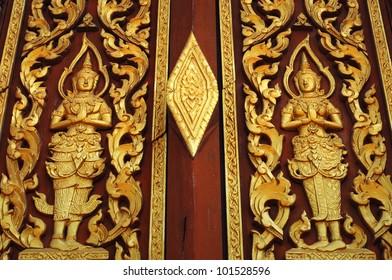 Thai window in Thailand