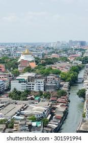 Thailand, Bangkok River-view