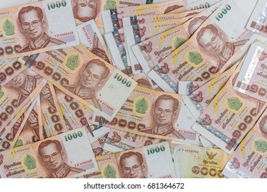 Thailand Bank note or  money for blackground .