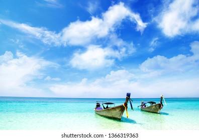 Thailand Beach Summer Background