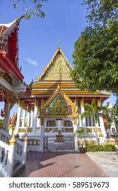 Thailand The beautiful Buddhist temples in Pattaya.