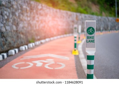 Thailand. Bike lanes or cycle lanes are types of bikeways (cycleways) with lanes on the roadway for cyclists only.