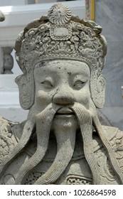 THAILAND - BUDDISH STONE STATUE FACE