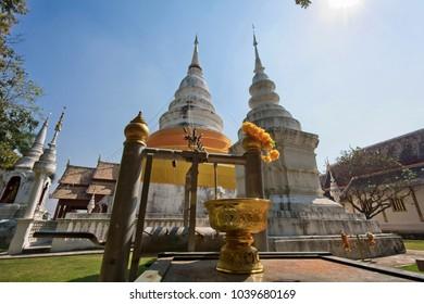 Thailand, Chiang Mai, Phra Singh Temple (Wat Phra Singh)