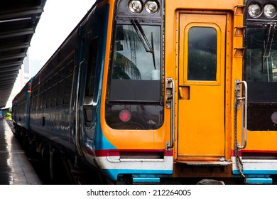 Thailand Commuter Train