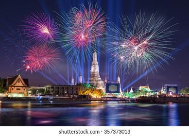 Thailand Countdown 2016 Wat Arun Rajwararam