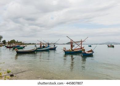 Thailand fishing boat