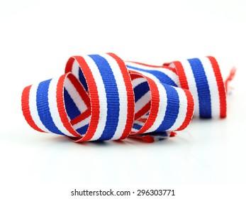 Thailand flag ribbon