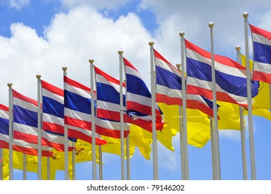 thailand flags