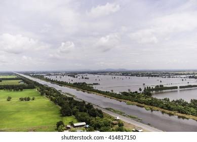 Thailand flooded