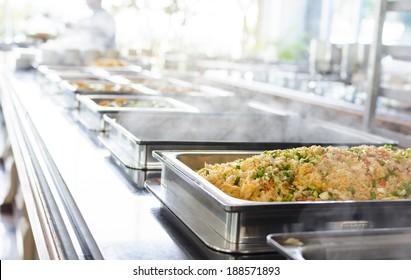 Thailand food buffet