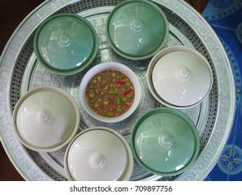 Thailand Food set and KhanomThai