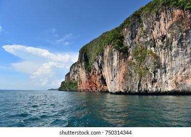 Thailand islands in the ocean