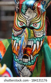 THAILAND - JULY 11 : unidentified participants in phitakhon festival 2013 at loei province on july 11, 2013 in Thailand.