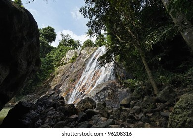 Thailand, Koh Samui (Samui Island), Na Muang Falls