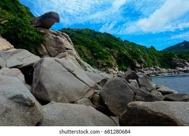 Thailand, Koh Tao coast
