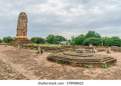 thailand landscape - wat lokkayasutharam - ayutthaya