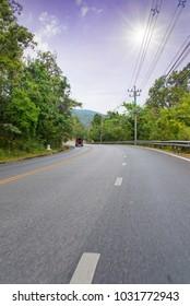 Thailand mountain road