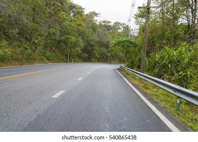 Thailand mountain road