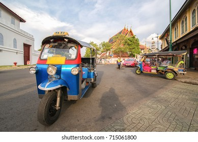 "thailand native taxi call ""tuk-tuk"""
