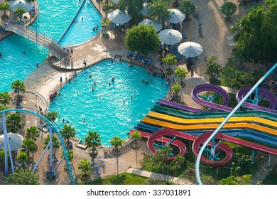 THAILAND - October 31 2015: PATTAYA Park major tourist attractions of the city