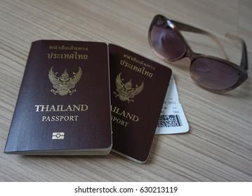 thailand passport boarding pass