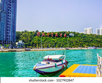 Thailand Pattaya City ,Bali Hai Pier of in Chonburi