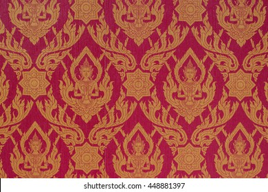 thailand pattern golden