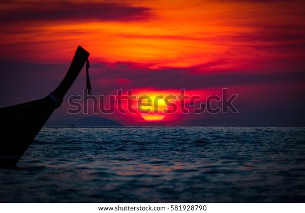 Thailand - Phuket Sunset.