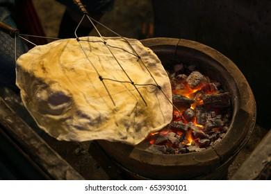 Thailand Rice Cracker, Street Food of Thailand