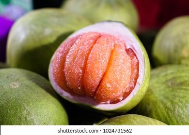 Thailand Siam ruby pomelo fruit