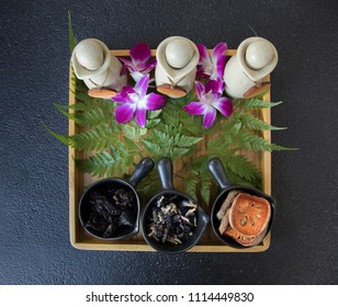 Thailand spa products.