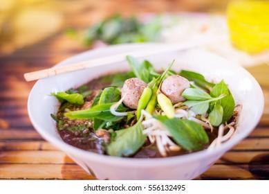 thailand  spicy  noodle