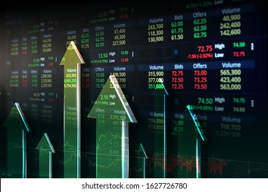 Thailand Stock Exchange, Streaming Trade Screen.