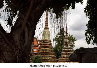 Thailand. Stupa in Bangkok