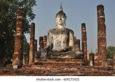 Thailand Sukhothai Wat Mahathat