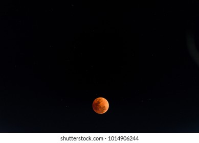 From thailand Super Blue Blood Moon on 31 January 2018 in Thailand at 20.00 pm.The rare lunar eclipse, three lunar phenomena (super moon, blue moon and total lunar eclipse) coincide