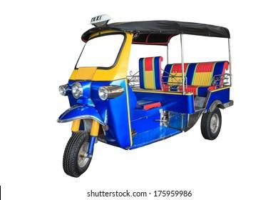 Thailand three wheel native taxi, Thailand Tuk Tuk