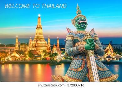 Thailand Travel backgroud Concept