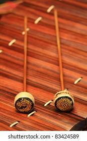"""Thailand Xylophone that it called """" Ranat ek"""""""