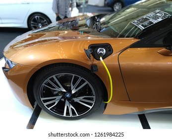 Electric Vehicle Charging Images Stock Photos Vectors Shutterstock