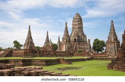 Thailand's old capital  historical park
