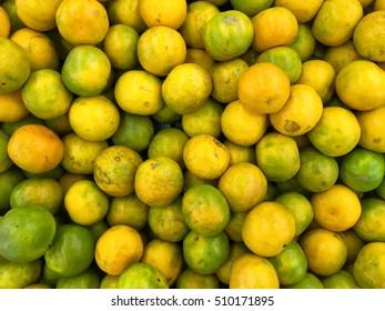 Thailand's orange in a market