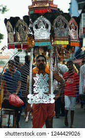 Thaipusam festival in Singapore May 10, 2013